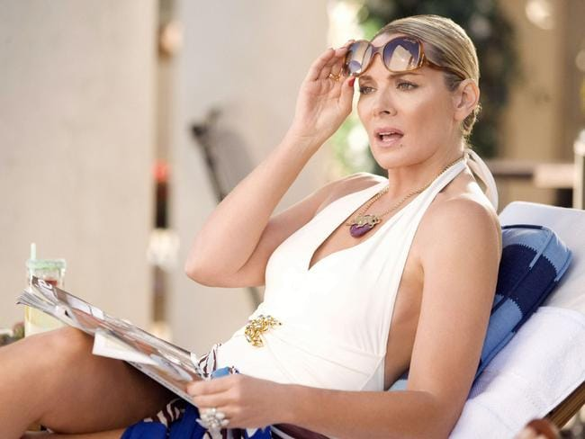 Kim Catrall as Samantha Jones in Sex and the City.