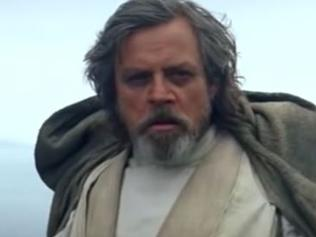 Mark Hamill as Luke Skywalker in The Force Awakens
