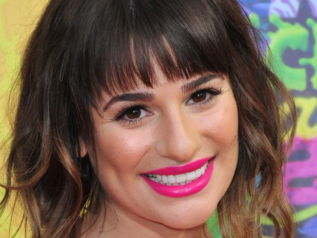 Moving on ... Monteith's girlfriend Lea Michele is dating again. Picture: Frazer Harrison