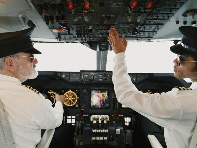 The rule means pilots can't chitchat in the cockpit during critical times of the flight, including takeoff and landing.