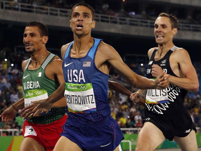 USA's Matt Centrowitz wins the 2016 Olympic 1500m.