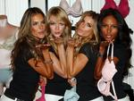 <p>Models Alessandra Ambrosio, Lindsay Ellingson, Marisa Miller and Emanuela de Paula attend Victoria's Secret 10-year anniversary celebration of The Body By Victoria Collection at Victoria's Secret Herald Square in New York City.</p>