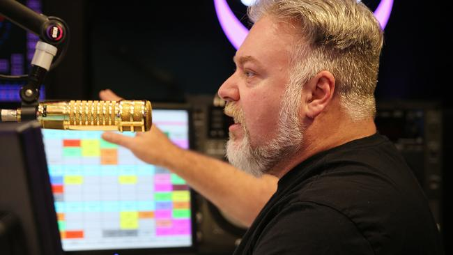 Kyle Sandilands poked fun at 2Day FM's breakfast ratings on air this morning.