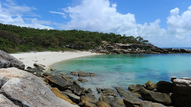 Pebbly Beach on Lizard Island in Queensland is the ideal isolated escape for many travellers, unless you suffer from nomophobia - a fear of losing mobile phone reception.