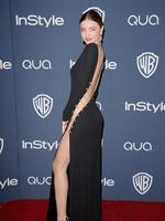Miranda Kerr in Emilio Pucci at the Instyle Awards 2014. Picture: Getty