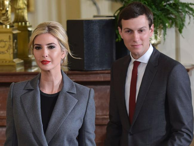 Steve Bannon has also butted heads with Javanka — Ivanka Trump and Jared Kushner. Picture: AFP/Mandel Ngan
