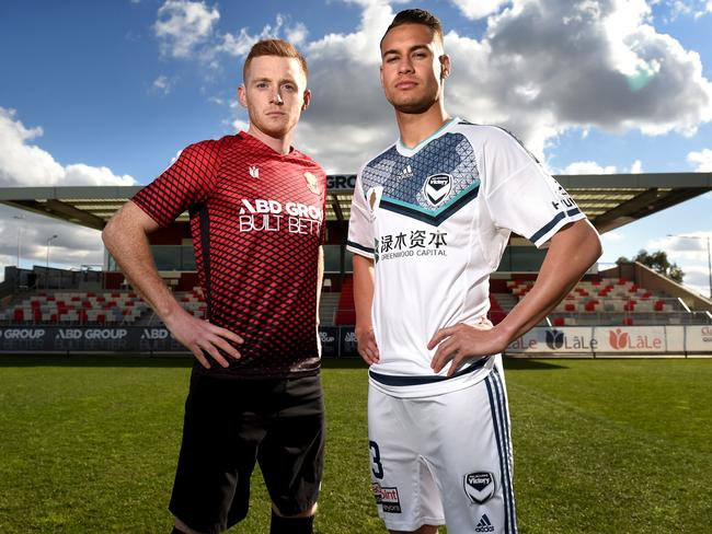Melbourne Victory's Jai Ingham was at Brisbane, then Hume City