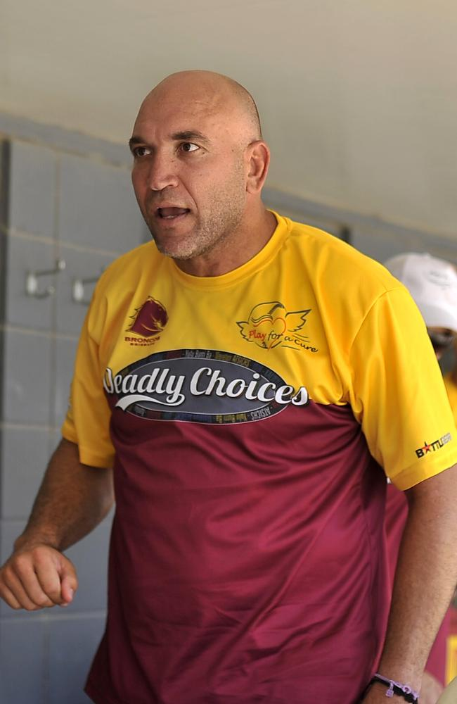 Gorden Tallis is at the centre of much of the angst at the Tigers. Pic: Brad Cooper