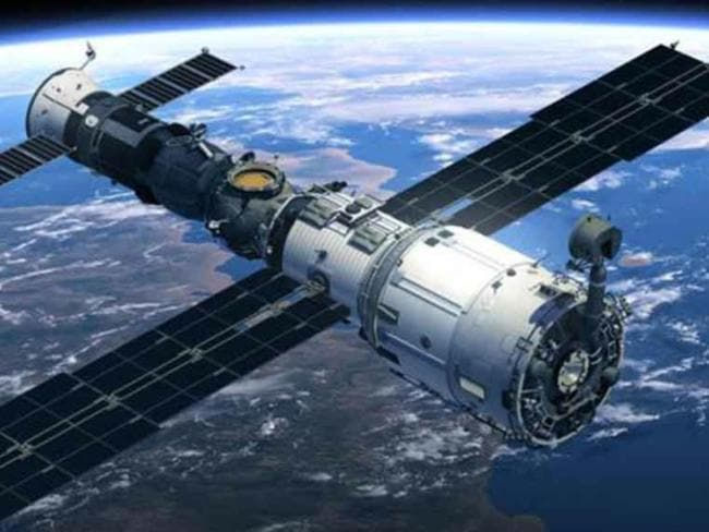 The Tiangong-1 Chinese space station is likely to smash back down into Earth sometime between March 24th and April 19th.