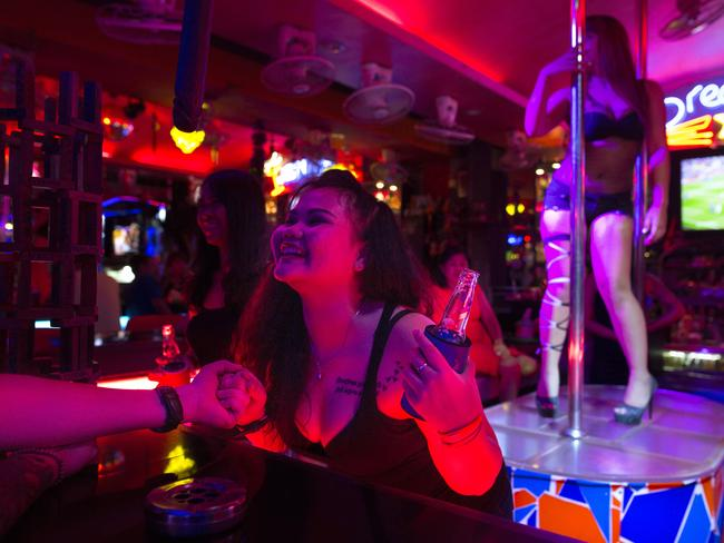 The sex trade in Thailand is well established. Picture: Paula Bronstein/Getty Images