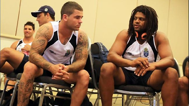 Adam Reynolds with Jamal Idris