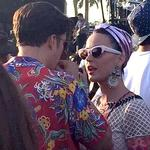 Katy Perry and Orlando Bloom at Coachella 2016. Picture: Twitter