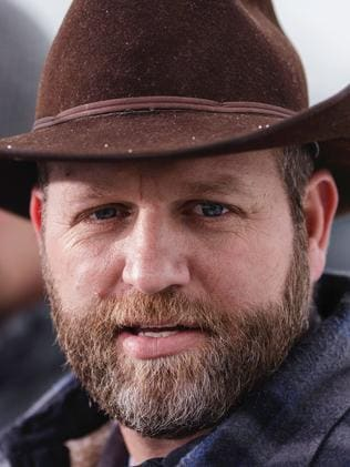 Militia leader Ammon Bundy. Picture: AFP/Rob Kerr