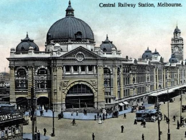 flinders street station history of a melbourne icon. Black Bedroom Furniture Sets. Home Design Ideas