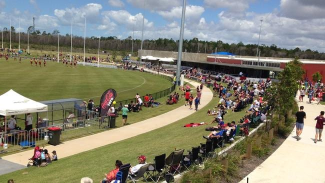 Caboolture Lions now have this $12m oval to call home. They have big plans to host more AFL preseason matches after the Brisbane Lions played Sydney there earlier this year.