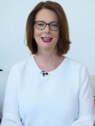 "Julia Gillard was ""emotionally committed to the cause"", beyondblue's outgoing chair said."