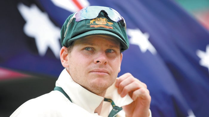Australian captain Steve Smith.