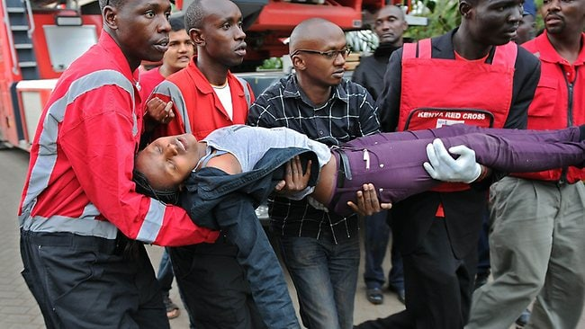 Nairobi shopping centre attack