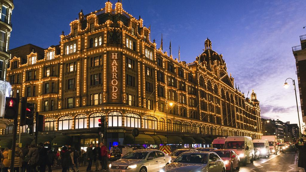 Fancy checking yourself into a fancy five star london for Door 4 harrods