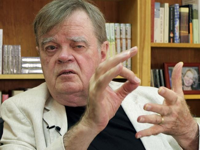Garrison Keillor was dumped by Minnesota Public Radio over allegations of inappropriate behaviour. Picture: AP