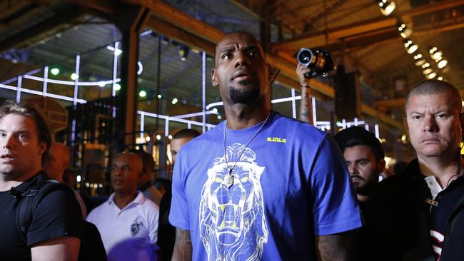 NBA superstar LeBron James made the cut for FIFA's special guest list.