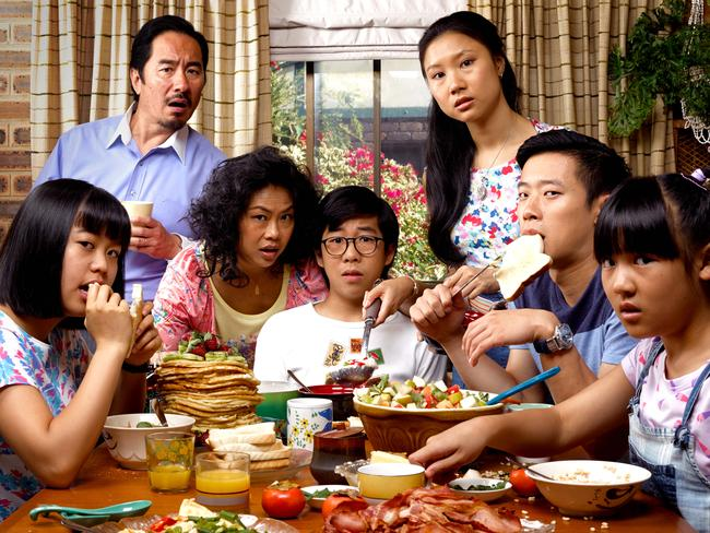 New comedy ... The Family Law comes to SBS this week, telling the tale of a Chinese Australian family and their one unforgettable summer. Picture: Supplied