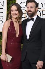 Olivia Wilde and Jason Sudeikis arrive at the 73rd annual Golden Globe Awards on Sunday, Jan. 10, 2016, at the Beverly Hilton Hotel in Beverly Hills Picture: Jordan Strauss/Invision/AP