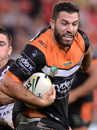 James Tedesco was denied a try three times against Brisbane.