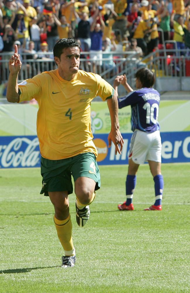 Cahill has now scored 31 times for Australia in 67 appearances.