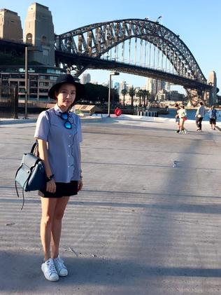 Jean Huang in Sydney. Picture: Facebook.