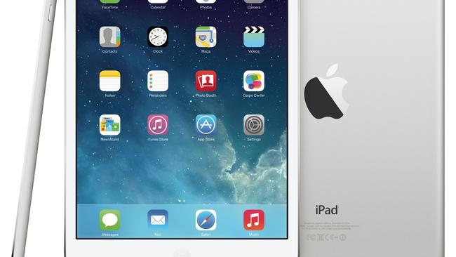 Screen rivals... Apple's iPad Mini with Retina display.