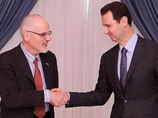 Dr Anderson and Assad. .