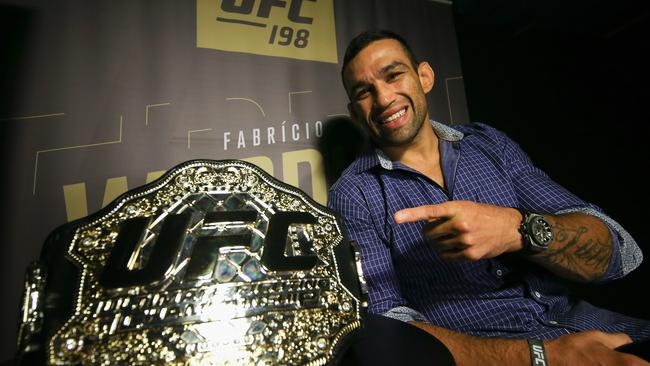 Former heavyweight champion Werdum will replace Hunt.