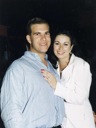 Former couple Matthew Perrin and Nicole Bricknell.