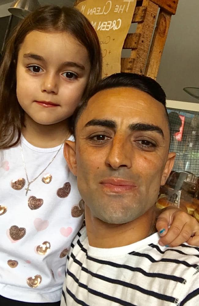 Bobby El-Issa with daughter Isabella last year. Picture: Supplied