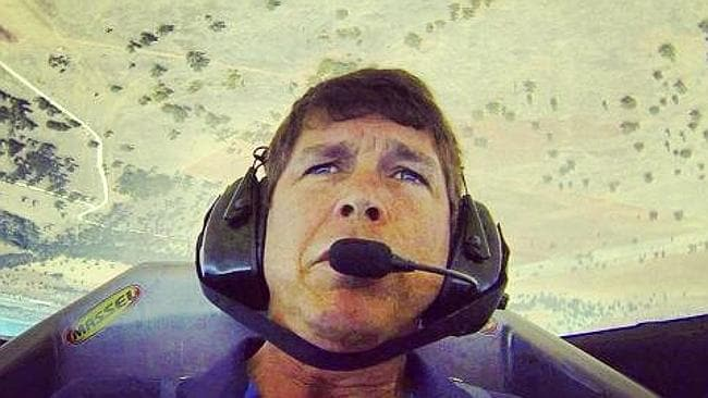 Pilot David Black, who was killed fighting the NSW fires. Picture: Facebook