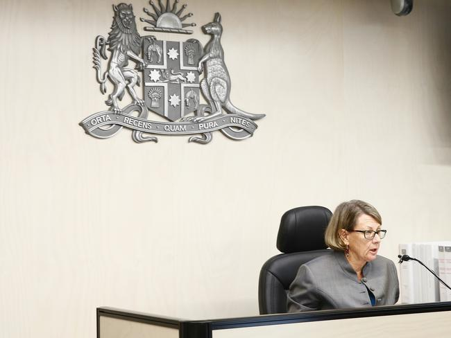 ICAC Commissioner The Honourable Megan Latham is presiding over the inquiry into Botany bay Council. Picture: John Appleyard