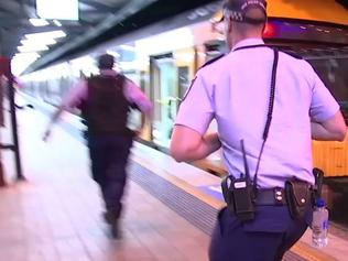 Supplied Sydney Central station mock terror incident - police exercise operation Pantograph