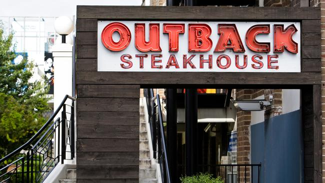 Outback Steakhouse restaurant in North Strathfield, Sydney.