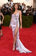 """Irina Shayk attends the Met Gala 2015 """"China: Through The Looking Glass"""". Picture: Getty"""