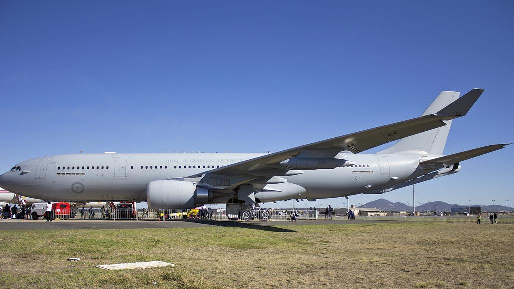A new plane for a future Australian Prime Minister - an Airbus KC30. Picture: Supplied