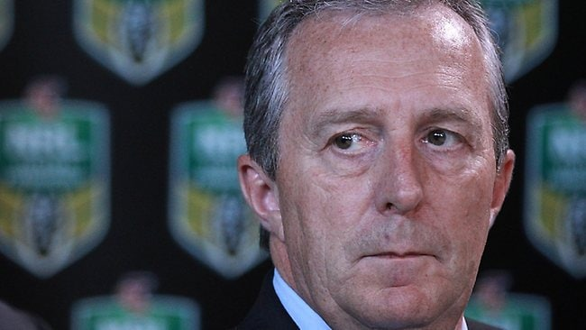 New NRL chief operating officer Jim Doyle.