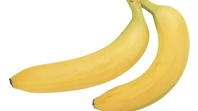 Bananas also work well as a metaphorical representation of his penises.
