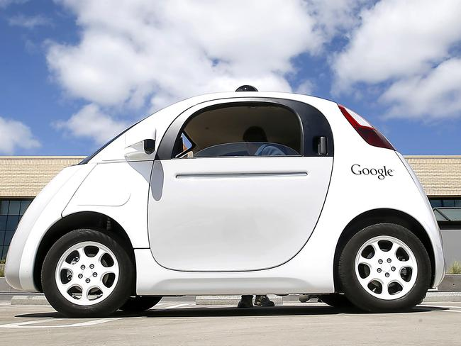 Slow start ... Google's new self-driving prototype car may be able to drive itself, but is it too slow to be on the roads? Picture: AP Photo/Tony Avelar