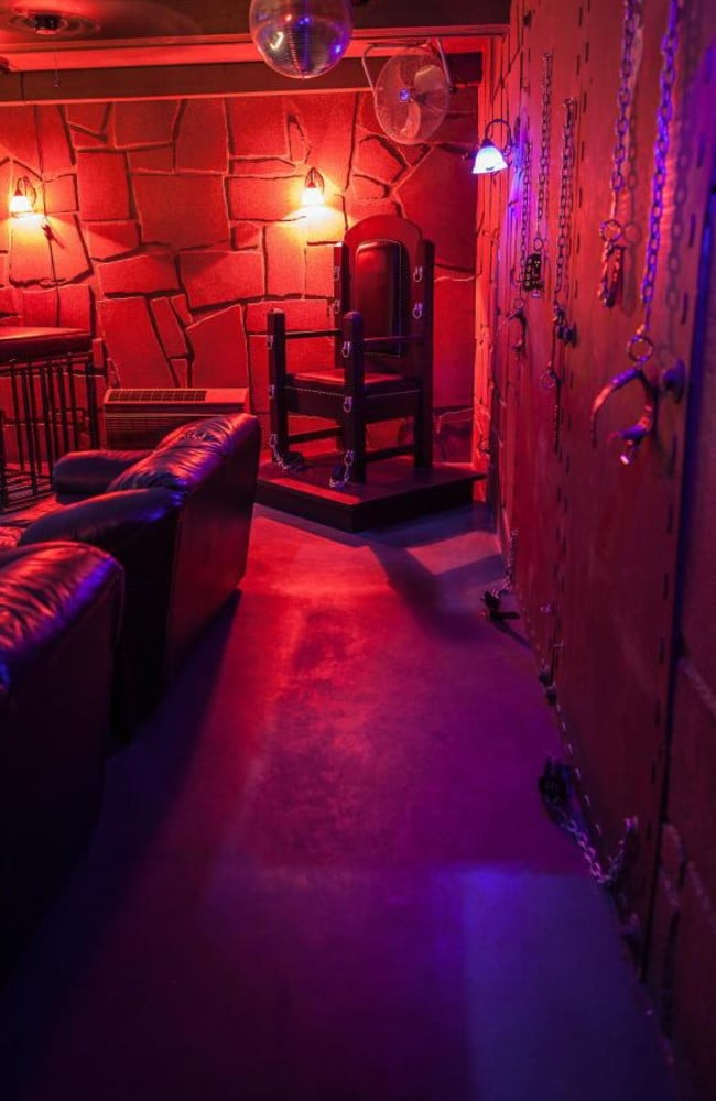 Sheri's also has a BDSM room, which customers can also request to use. Picture: Sheri's Ranch