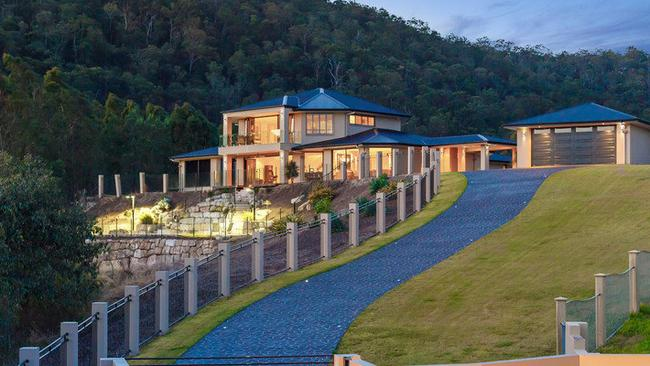 A hilltop position gives 8 Millibrook Drive some of the best views in the region. Picture: realestate.com.au