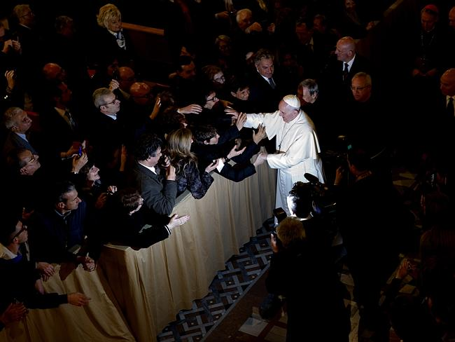 "Pope Francis last week warned mobsters they will go to Hell if they don't repent and renounce their ""bloodstained money and bloodstained power."""
