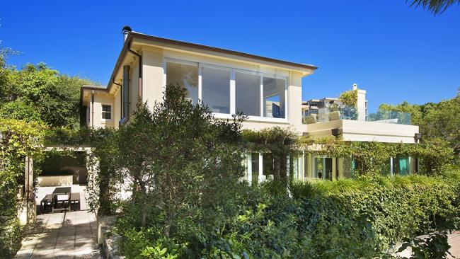 THE Wentworth St, Point Piper home has lush gardens.