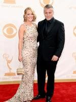 LOS ANGELES, CA - SEPTEMBER 22: Actor Matt LeBlanc (R) and Andrea Anders arrive at the 65th Annual Primetime Emmy Awards held at Nokia Theatre L.A. Live on September 22, 2013 in Los Angeles, California. (Photo by Frazer Harrison/Getty Images)