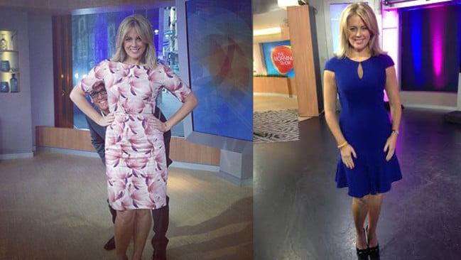 Sam says she prefers the 'no fuss' fashion of simple, clean cut dresses when filming Sunrise.